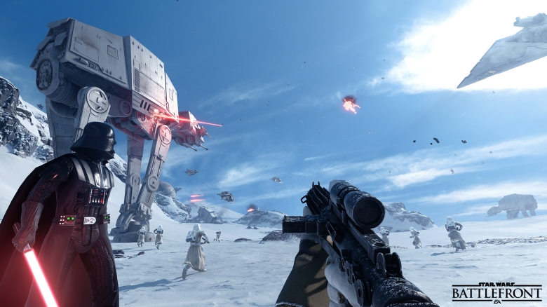 Star Wars Battlefront Beta Announcement Screen _ Final
