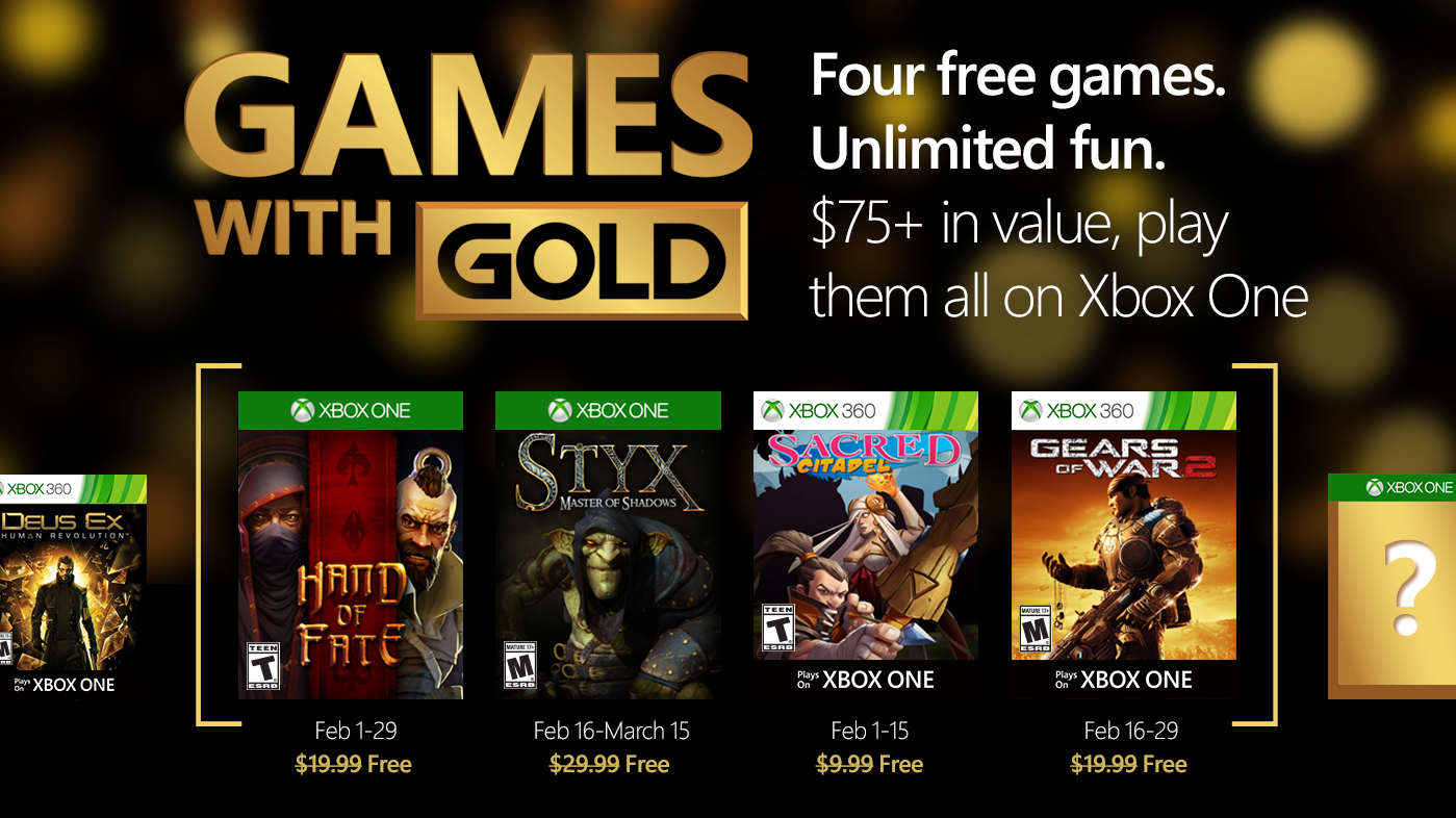Xbox Live Free Games with Gold for June, includes Dark Souls ...