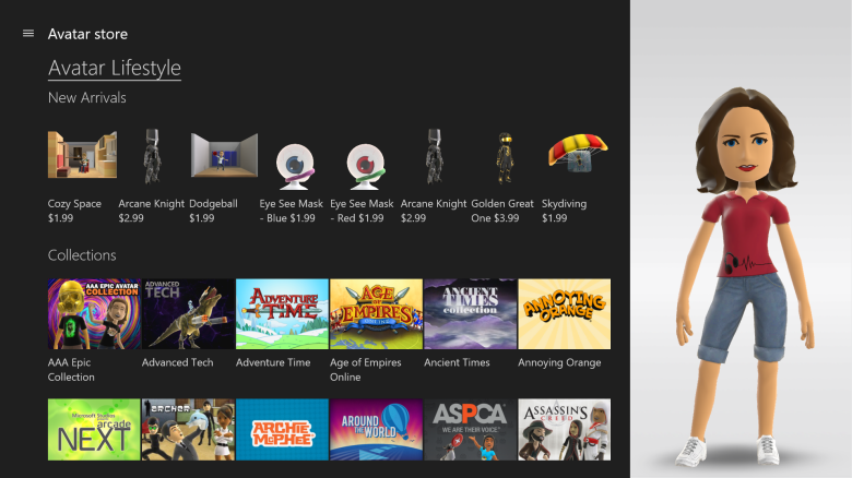 Avator Store_Console_Xbox app
