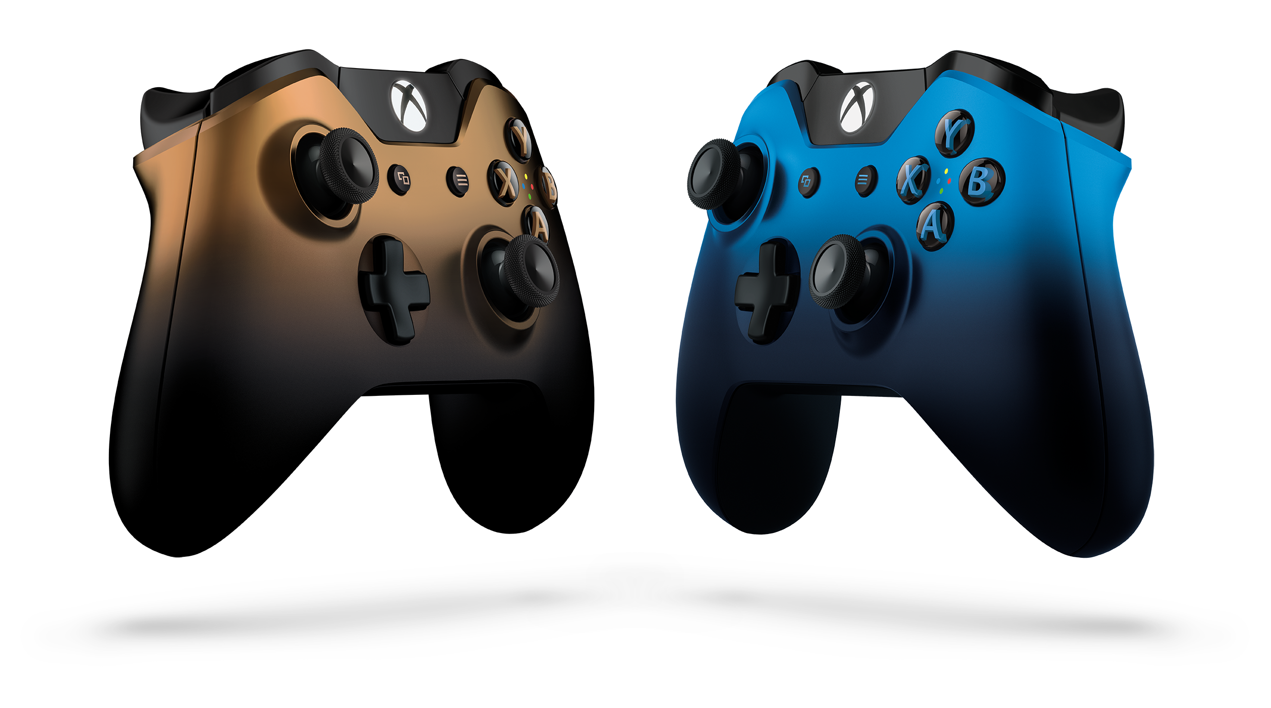 Dusk Shadow And Copper Shadow: Two New Xbox One Special Edition Wireless Controllers