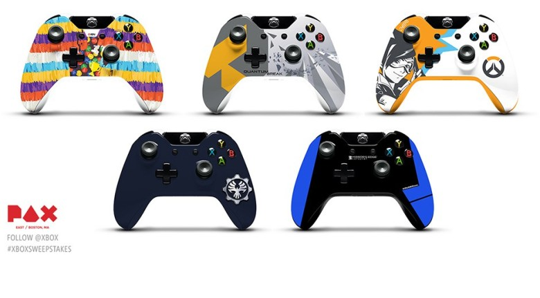 Fans have a chance to win a custom Xbox One controller at PAX East ...