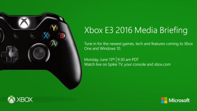 Xbox E3 2016 Briefing