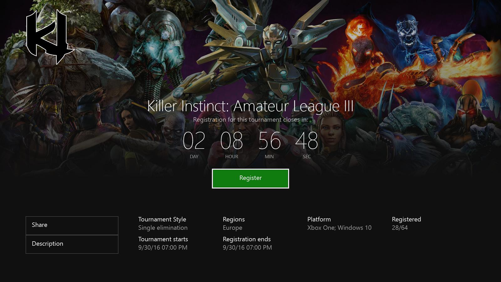 Creators - La prochaine mise à jour de la Xbox One s'affiche un peu plus Arena-on-xbox-live_killer-instinct