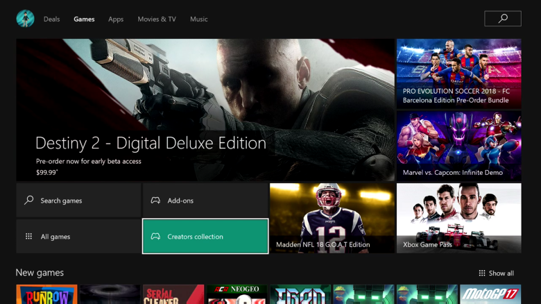 Xbox One Creators Collection