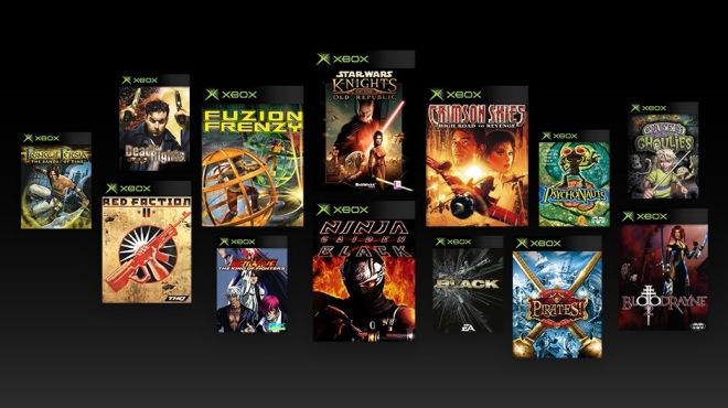Original Xbox titles