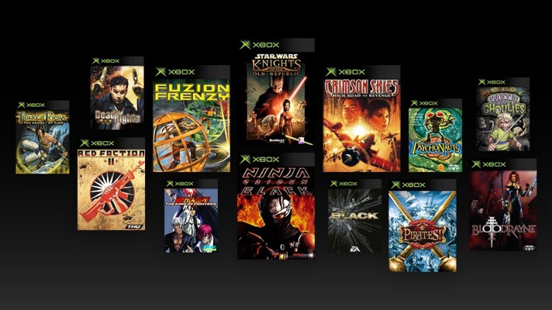Original Xbox titles