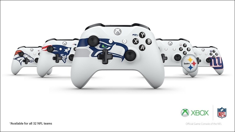 Themed Xbox One controllers have arrived