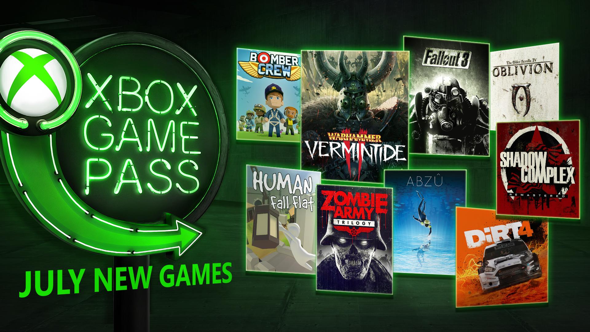Xbox Game Pass: Warhammer: Vermintide 2, DiRT 4, Zombie ...